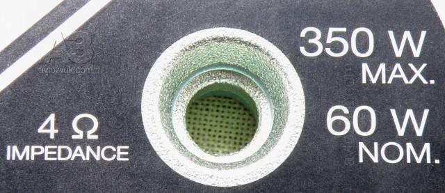 Компонентная акустика Pioneer TS-A173CI, вентиляция