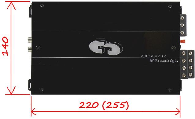 CDT Audio MA-7504 габариты