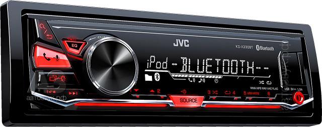 JVC KD-X330BT панель