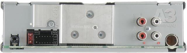 JVC KD-X330BT Rear