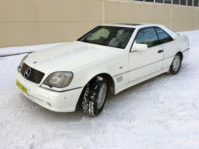 Mercedes CL500 экстерьер