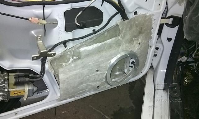 Mercedes CL500 дверной короб