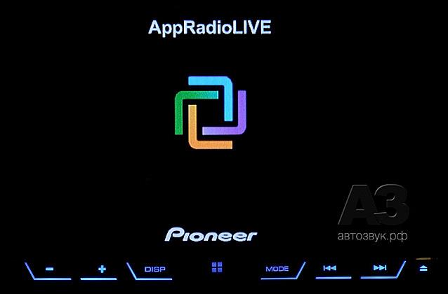 Pioneer AVH-X5800BT appradio