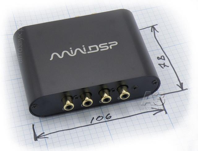 Цифровой процессор miniDSP 2×4
