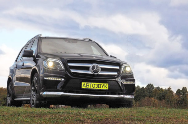 Аудиосистема в Mercedes-Benz GL400