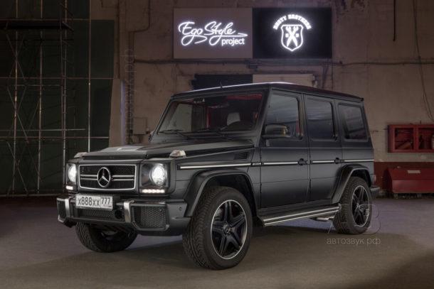 Аудиосистема в Mercedes-Benz G63 AMG