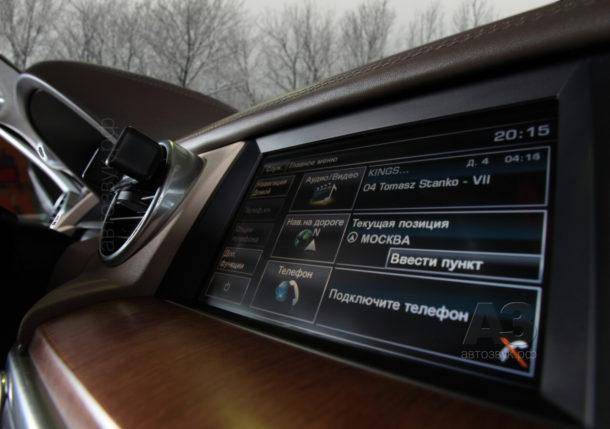 Мультимедийная система в Range Rover Discovery