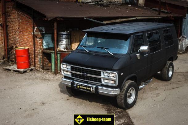 Мультимедийная система в Chevrolet Van