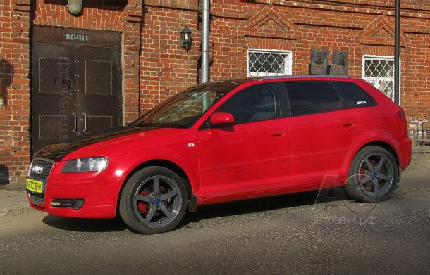 Аудиосистема в Audi A3