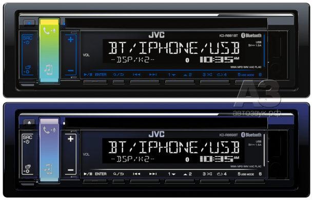 JVC KD-R881BT & KD-R889BT