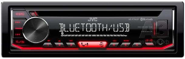 Процессорные ресиверы JVC серии KD-R