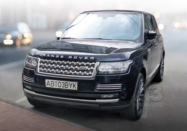 Аудиосистема в Range Rover Vogue