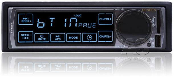 Бездисковое и бескнопочное ГУ Senben MP3077