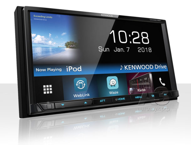 Медиаресивер Kenwood DMX-6018BT