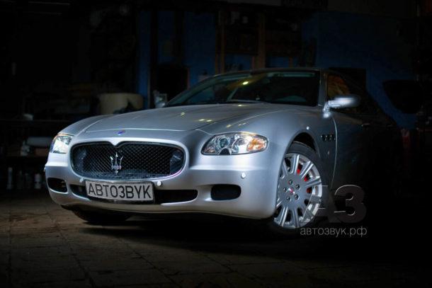 Аудиосистема в Maserati Quattroporte