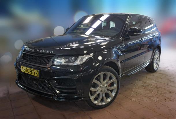 Аудиосистема в Range Rover Sport