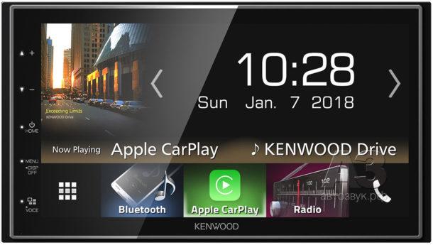 KENWOOD поддерживает HDD