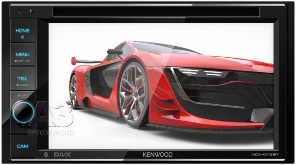 Мультимедийный ресивер Kenwood DDX4019BTR