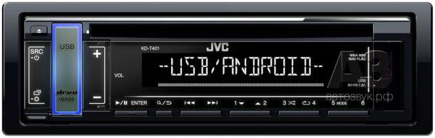 CD/USB-ресиверы JVC