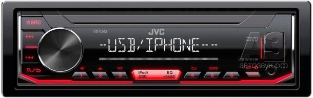Медиаресивер JVC KD-X262
