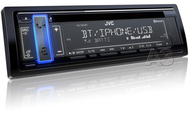CD-ресивер JVC KD-T801BT