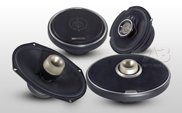 Громкие акустические системы Kenwood HQR