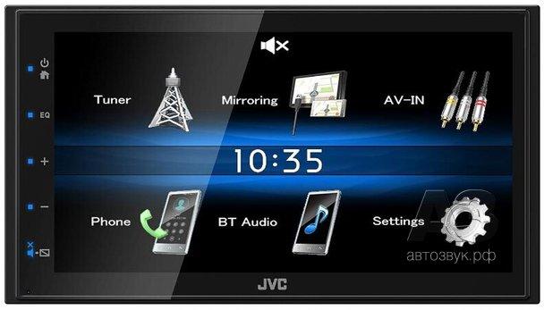 Медиаресивер JVC KW-M25BT