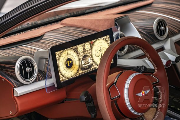 Дебют электромобиля Hispano Suiza Carmen