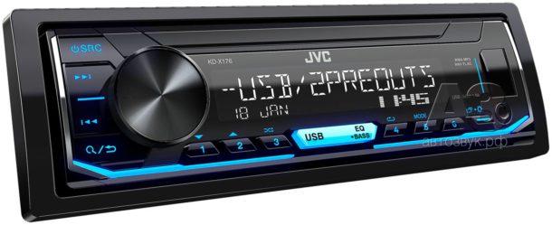 JVC KD-X176 – бездисковый ресивер базового уровня