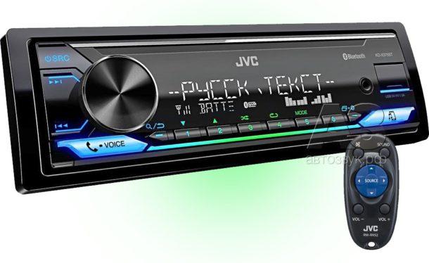 Тест бездискового ресивера JVC KD-X375BT