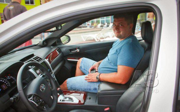 Аудиосистема в Toyota Camry