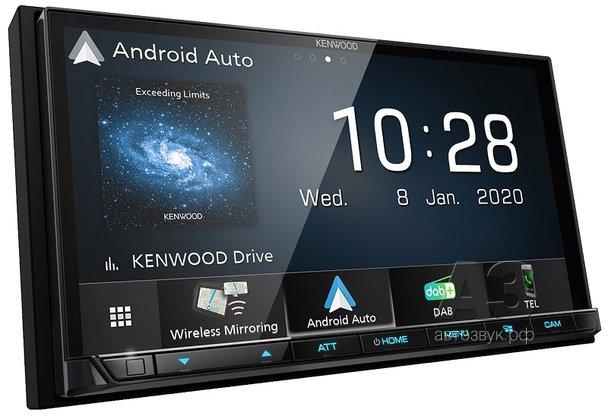 Мультимедийный ресивер KENWOOD DMX8020DABS