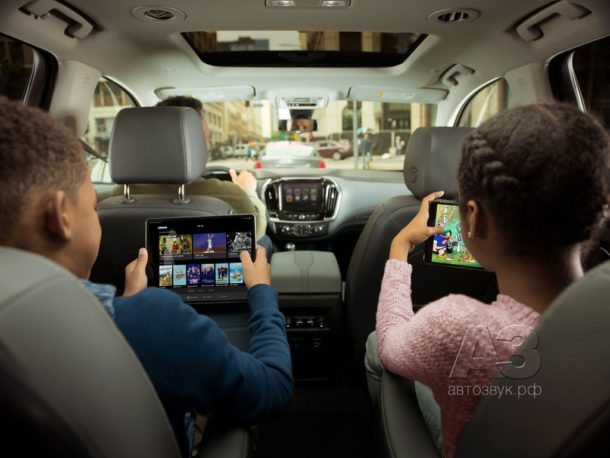 Видеосервис в автомобилях GM