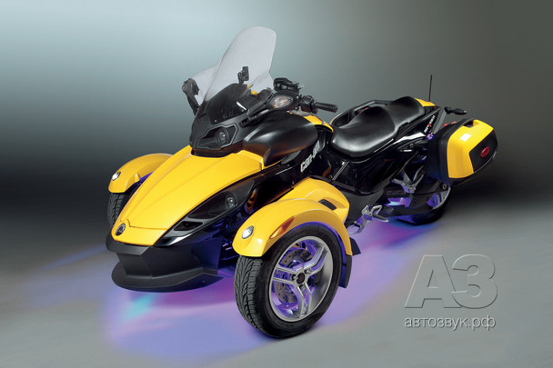 Аудиосистема на BRP Can-Am Spyder RS