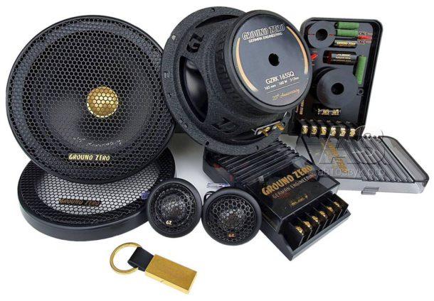 Тест компонентной акустической системы GROUND ZERO GZRC 165 Anniversary