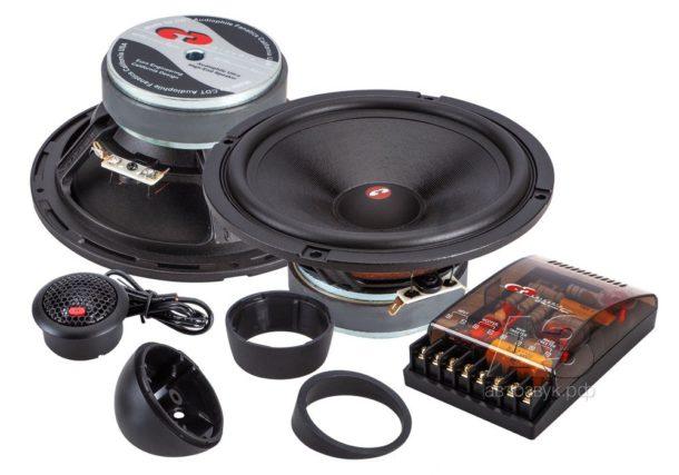 Тест компонентной акустики CDT HD-625 SD