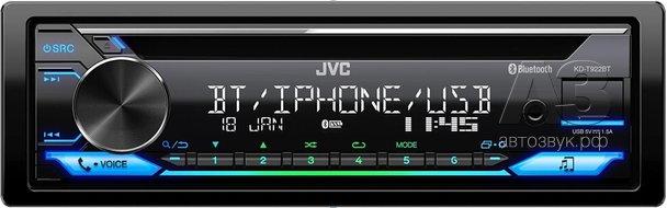 CD-ресивер JVC KD-T922BT