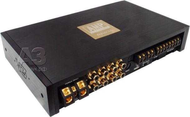 Тест усилителя с процессором PANACEA DA-80.6DSP v3