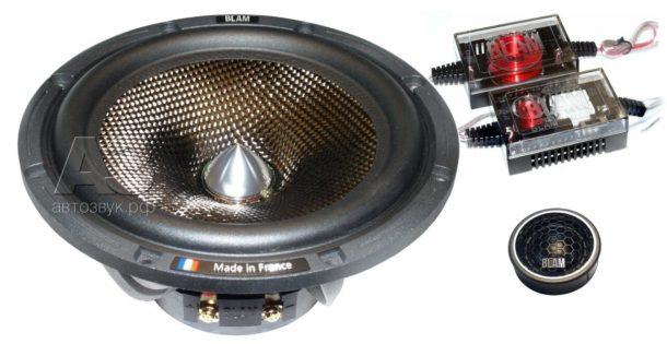 Тест двухполосной акустики BLAM S 165.80+ Signature